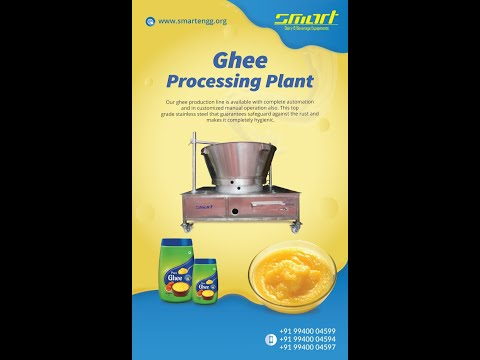 Mini Ghee Making Machine