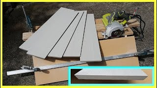 How to make a simple Jig to cut 45 degree tile edges. Резка плитки под 45