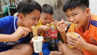 Bé Vui Ăn Mì ❤ ChiChi Family ❤ Đồ Chơi Bài Học Cho Bé