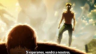 Titan Bestia Vs. Titan Acorazado -  Zeke Aparece! - Attack On Titan S3