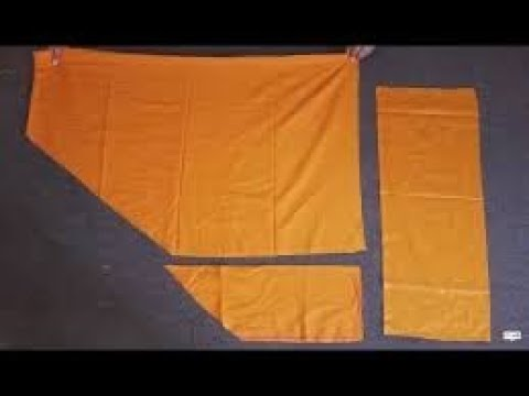 How to cut and stitch salwar belt of any size