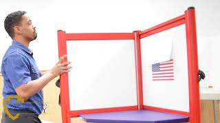 Voting Booth Set-up