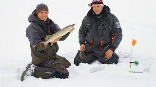 С братом на рыбалку