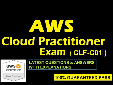 AWS Cloud Practitioner Exam CLF-C01   LATEST 2021 FREE ...