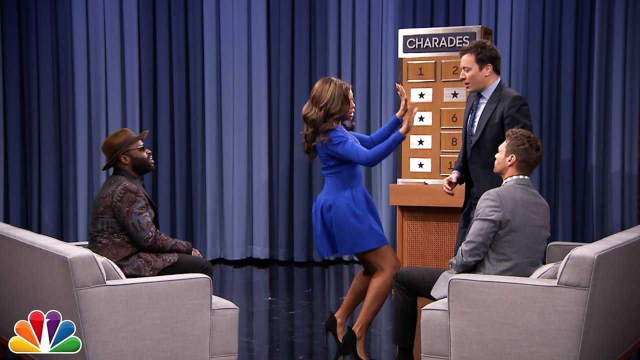 Charades with Ryan Seacrest and Taraji P. Henson thumbnail