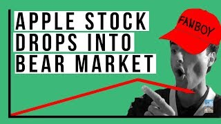 Apple Stock Has Fallen 20% and Dipped In A BEAR MARKET! Oil Dropped To $55!