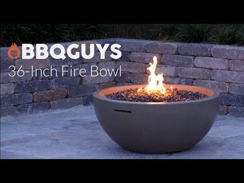 BBQGuys 36 Inch Fire Bowl - Smoke