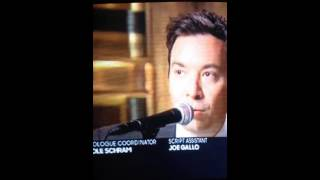"Jimmy Fallon singing ""Son Of A Bitch"""