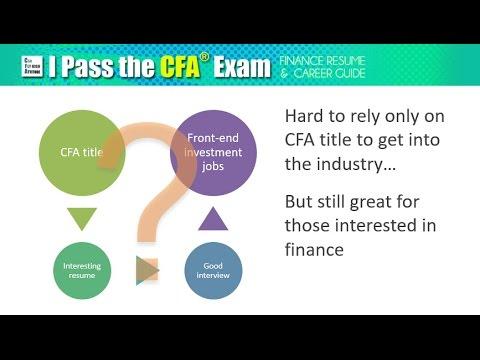 Is CFA Designation Worth It? - YouTube