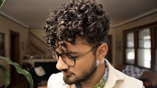 The EASIEST Hair Guide For MEN With SUPER CURLY Hair