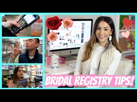 Video Wedding Registry Tips and Ideas + Our Experience!
