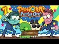 Supermega Plays Tamagotchi Party On Ep 1: Elderly Love