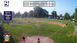 Town and Country 12U State Championship Game #1 Fairfield vs Madison Grant