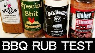 BBQ Rub Review | Weber, Jack Daniels, Butt Rub, Special Sh*t