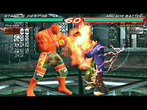 [TAS] Tekken 6 - Craig Marduk (PSP)