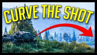 ► Time to CURVE The Shots! - World of Tanks Gameplay 2018