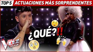 The MOST SURPRISING Blind Auditions of La Voz