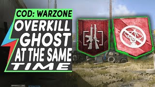 How to Get GHOST and OVERKILL PERKS at The Same Time | 2 Best Perks in COD Warzone
