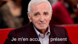Charles Aznavour - Mes Emmerdes (1999)