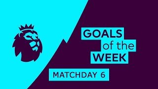 Premier League Goals & Highlights | Matchday 6 | 2018/19