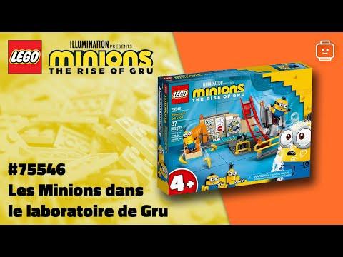 Vidéo LEGO Minions 75546 : Les Minions dans le laboratoire de Gru