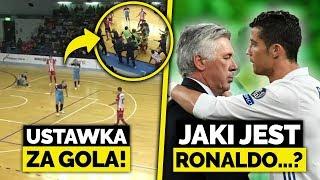 SPRYT piłkarza = USTAWKA na meczu! Ancelotti ZDRADZA jaki jest RONALDO!