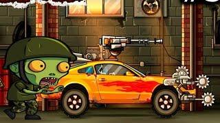 Машины против зомби игра как мультик для детей | Давим зомби на машине Earn To Die | ФАНИ ГЕЙМС