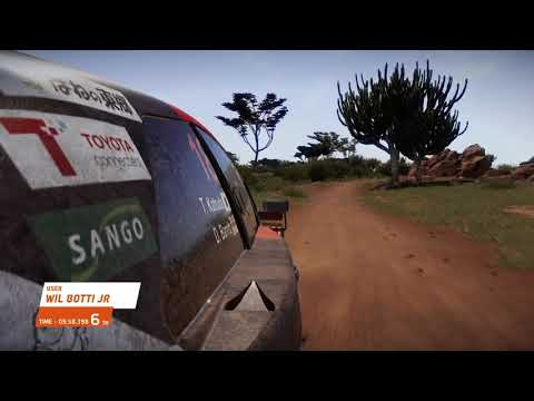 E-sports WRC2021 サファリ プレビュー動画
