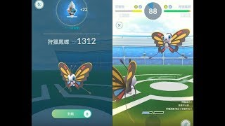 Beautifly  - (Pokémon) - 【Pokemon GO】第三世代寶可夢 狩獵鳳蝶 Beautifly 道館對戰! [精靈寶可夢GO]