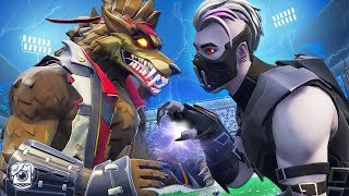 DIRE WEREWOLF VS. VAMPIRE FIGHT! *NEW SEASON 6* - A Fortnite Short Film