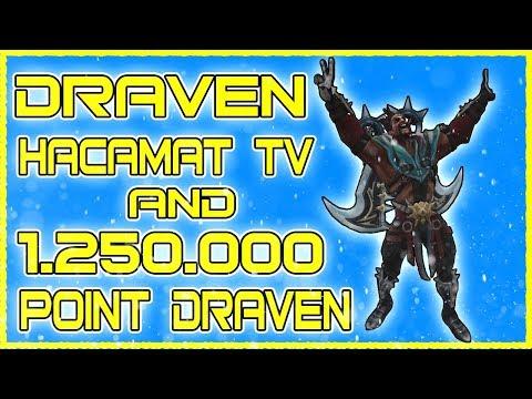 D R A V E N |League of Legends Hacamat TV & 1.250.000 Point MÊTÊR OF ÐRÃVÊÑ