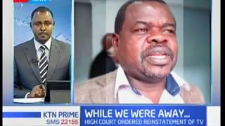 Okiya Omtatah challenges media switch off