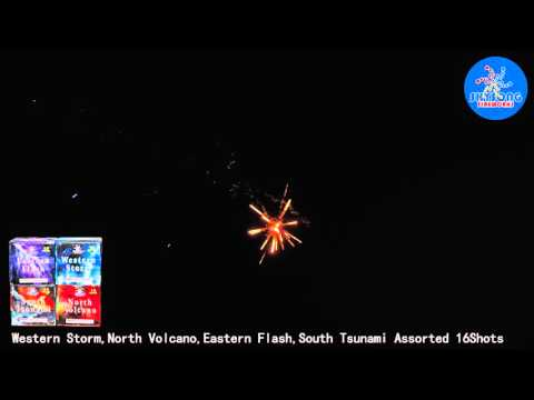 Western Storm,North Volcano,Eastern Flash,South Tsunami Assorted 16Shots