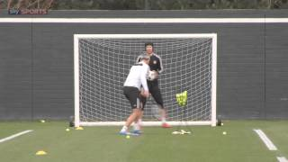 The ULTIMATE goalkeeping drill (Petr Cech)