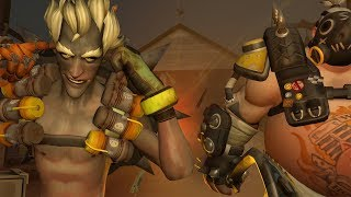 Junkrat and Roadhog Play Together | Overwatch Voice Acting