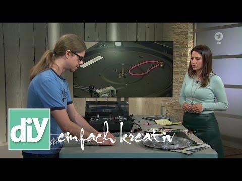 Repair-Café: Plattenspieler-Keilriemen wechseln | DIY einfach kreativ