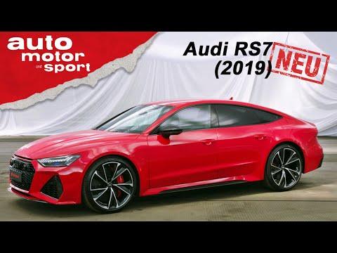 Der neue Audi RS7 Sportback (2019): Erste Sitzprobe in der Power-Limo - Review   auto motor & sport