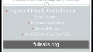 Pell Grant Eligibility