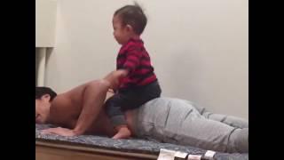 パパもっと遊ぼうよクレイジーパパ子育て育児人気動画