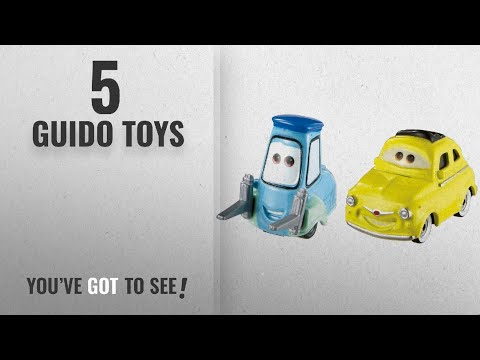 Top 10 Guido Toys [2018]: Disney/Pixar Cars 3 Luigi And Guido Die-Cast Vehicles
