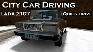 Lada 2107 | Timelapse | City Car Driving