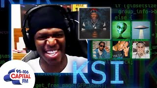 KSI Talks Dissimulation, Rappers and Alien Conspiracies | The Bunker | Capital