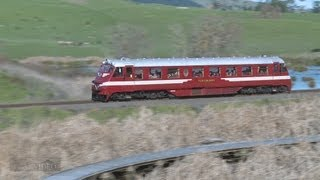 preview picture of video 'RM31 Railcar trip to Napier July, 2013'