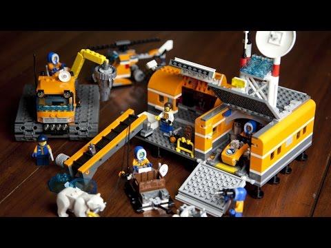 Vidéo LEGO City 60036 : Le camp de base arctique