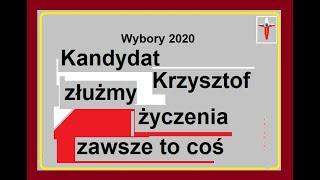 Kandydat Krzysztof należny mu życzyć
