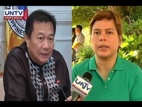 [UNTV]  Duterte admits daughter Sara maneuvered removal of Alvarez as House speaker