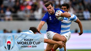 Rugby World Cup 2019: France vs. Argentina | EXTENDED HIGHLIGHTS | 9/21/19 | NBC Sports