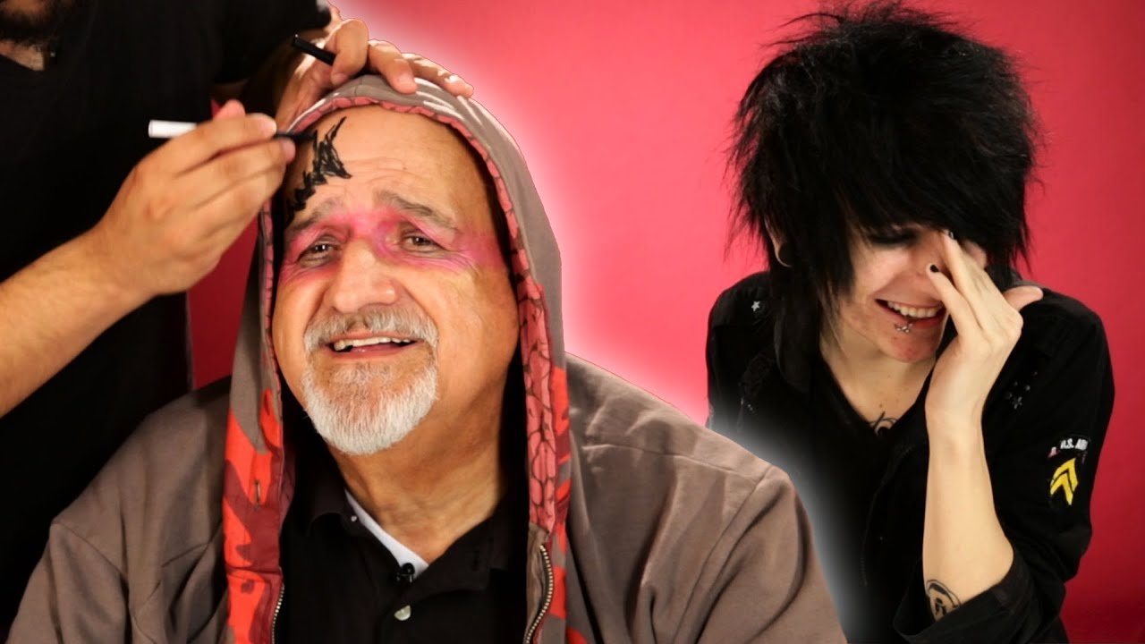 Emo Kids Give Their Parents A Makeover thumbnail