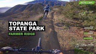 Farmer Ridge and MG Trail in Topanga State Park
