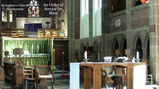 St Andrew's Parish Eucharist – Sunday 11th July 2021